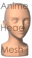 Anime Head Mesh(1)