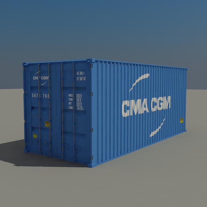 maya cargo container