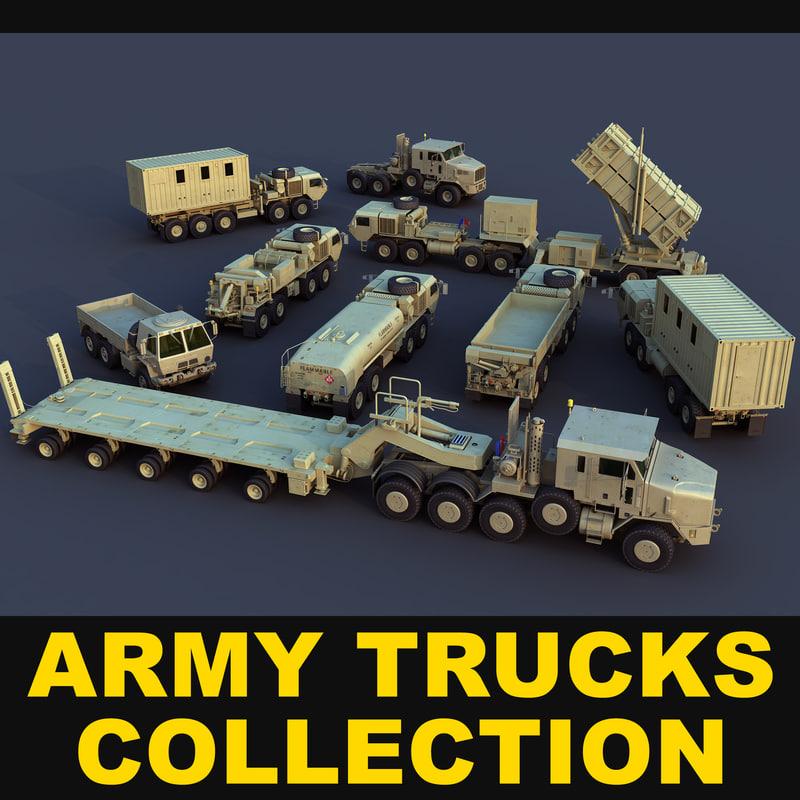 3d army trucks