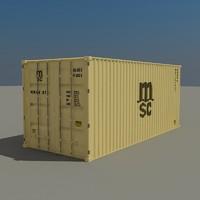 3ds cargo container
