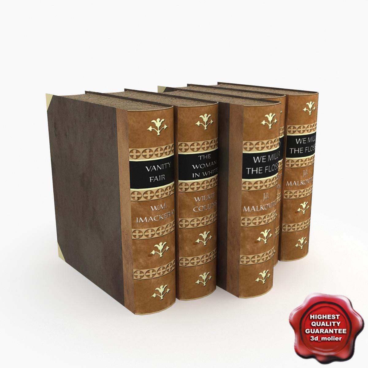 books v2 3d max