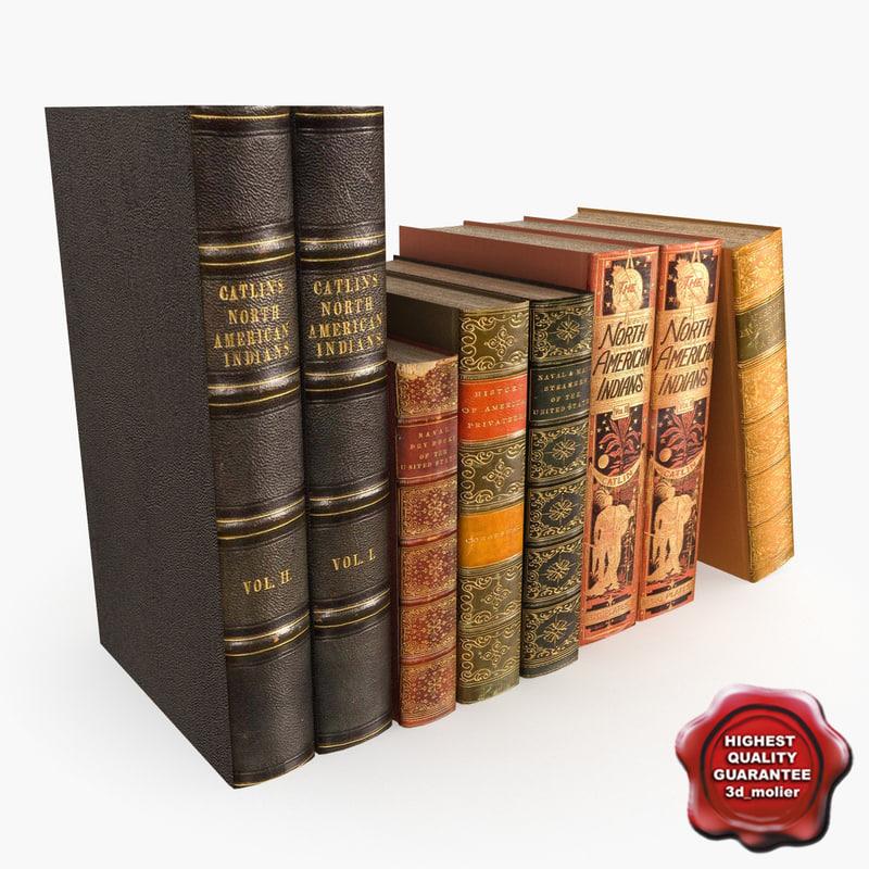 3d model books v3