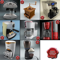 Coffee Makers Collection V3