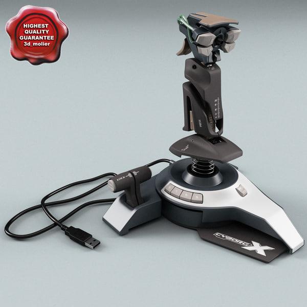 cyborg x joystick max