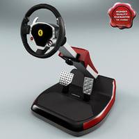 Ferrari Themed Racing Cockpit