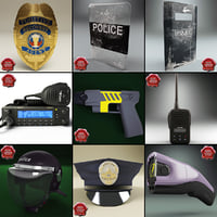 Police Equipment Collection V2