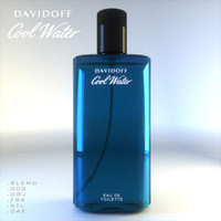 Men Eau De Parfume Bottle