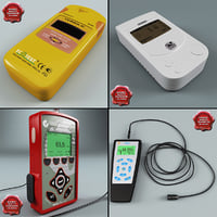 Radiation Detector Dosimeters Collection