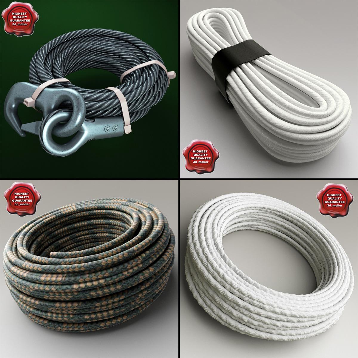 ropes v2 3d model