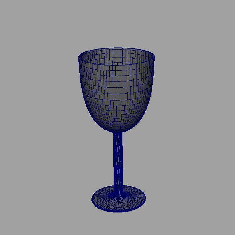 free obj mode wine glass