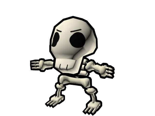 max toony skeleton