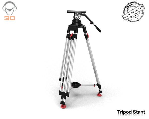 max tripod v-ray