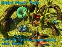 Weird Plants Pack