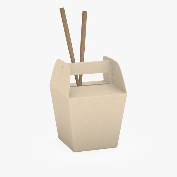 3d foodbox chopsticks