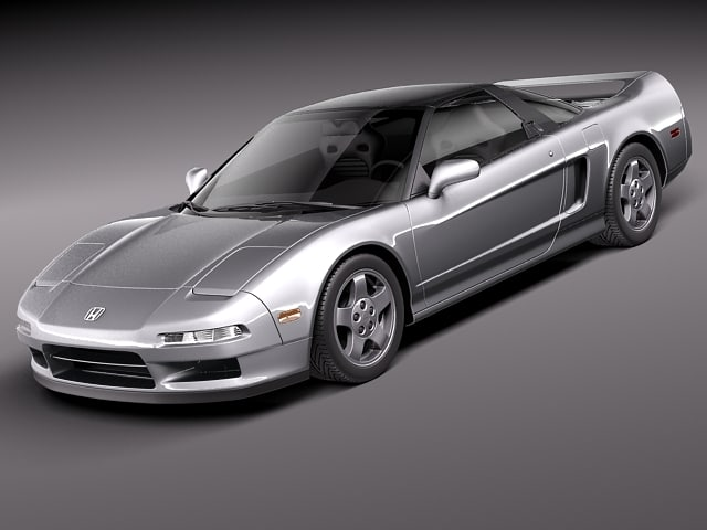 honda nsx 1990 sport coupe 3ds. Black Bedroom Furniture Sets. Home Design Ideas