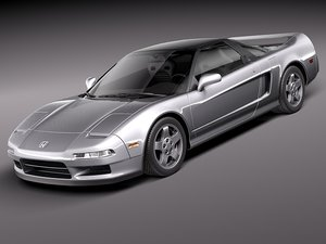 honda nsx 1990 sport coupe 3ds