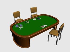 chips table model