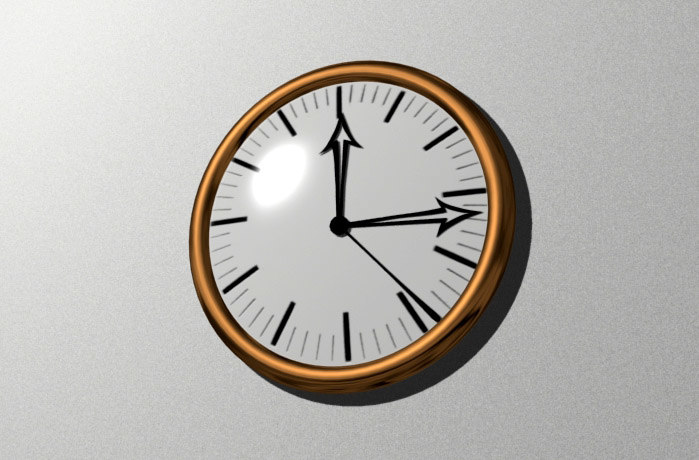 free 3ds mode wall clock