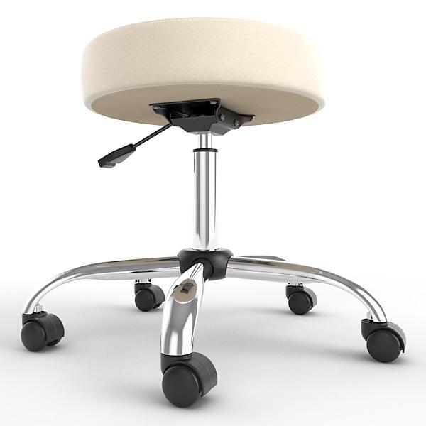 max ergonomic stool height adjustment