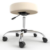 Adjustable Height Stool 01