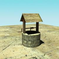 free bucket wall 3d model