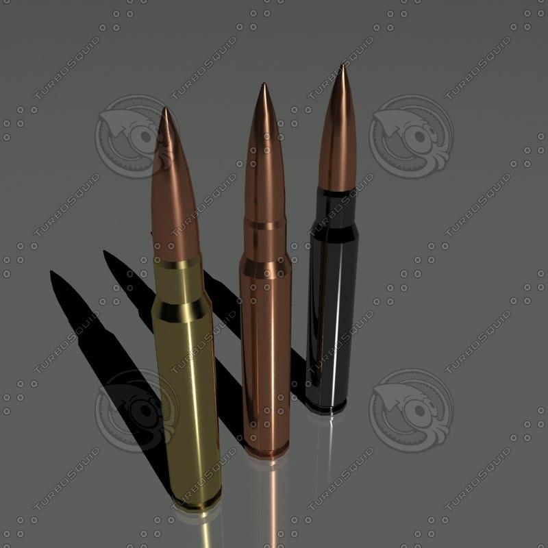 3d cartridges 7 92 mm