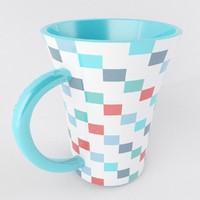3d model cup mug