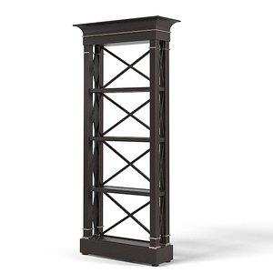 etagere cabinet art 3d 3ds