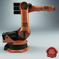 3d kuka robot kr 100-3 model