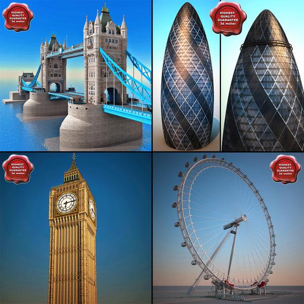 landmarks v9 london 3ds