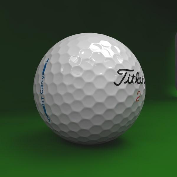 golf ball obj