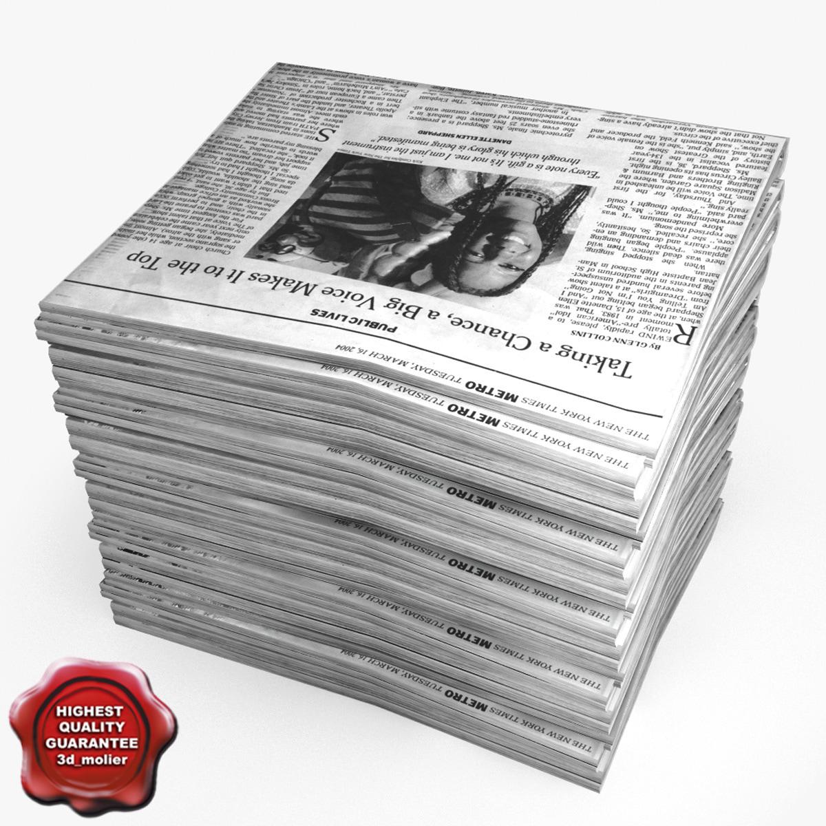 3d newspapers v6