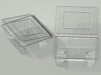 maya plastic box food