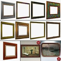 picture frames 5 3d c4d