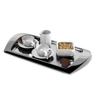 silver dining serving 3d model