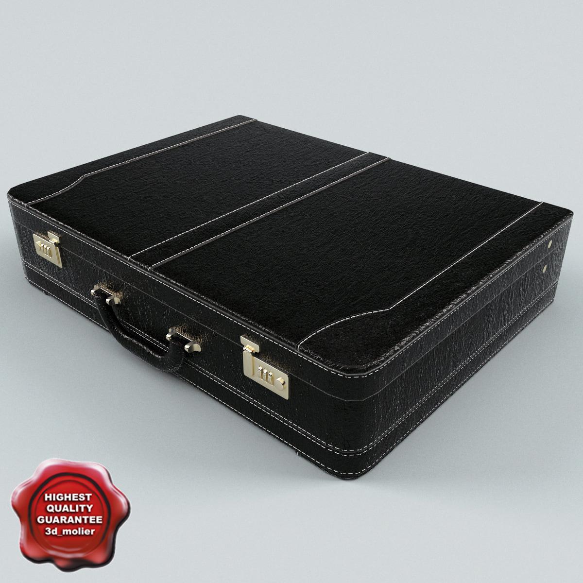 3d model suitcase v6
