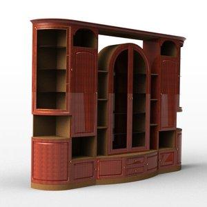 3ds max wide shelf