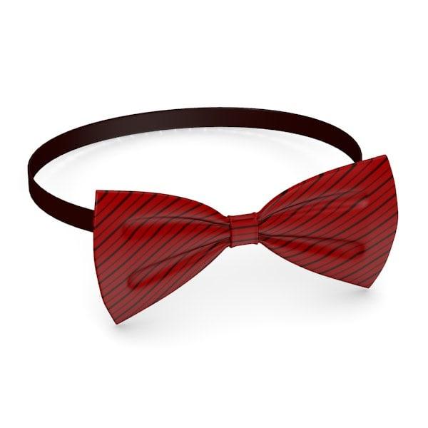 3d bow tie