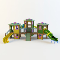 childs slide 3d max