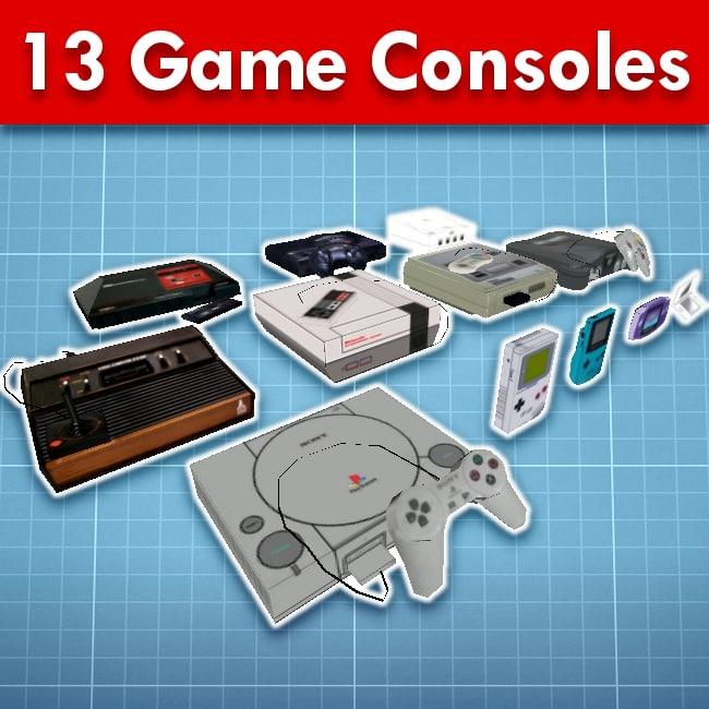 3d 13 consoles