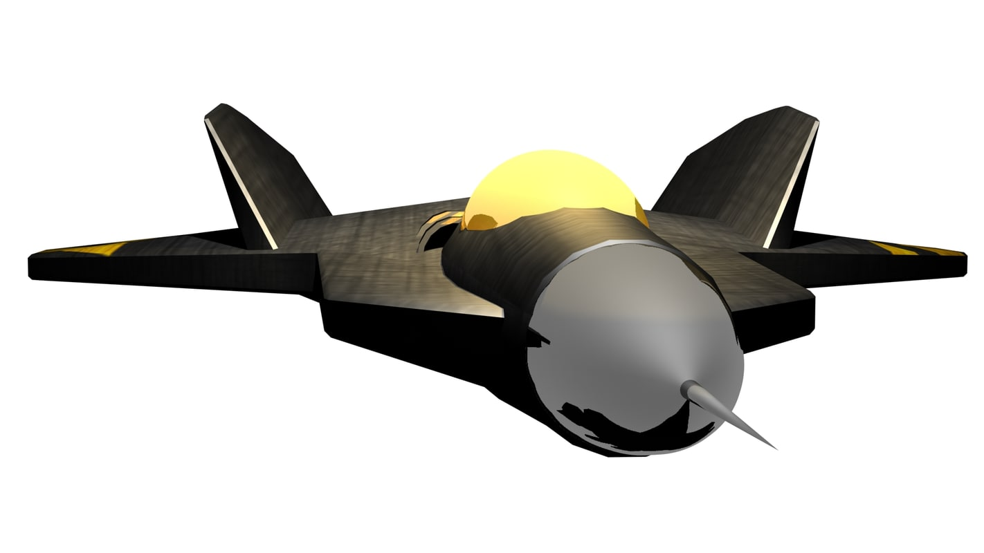 3d f-22 raptor model