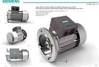 siemens flange motor 3d model