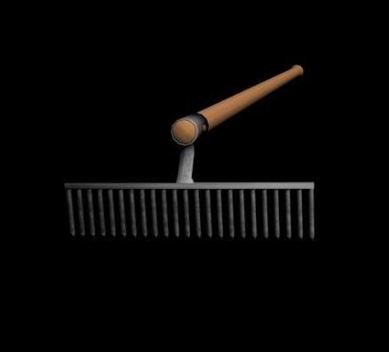 3d model garden tool