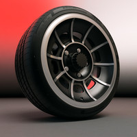 General Lee wheel with tire