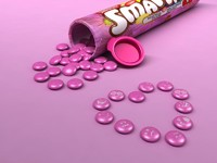 free max mode smarties sweet candies