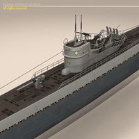3ds type ix u-boat submarine