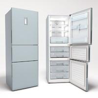 haier refrigerator 3d model