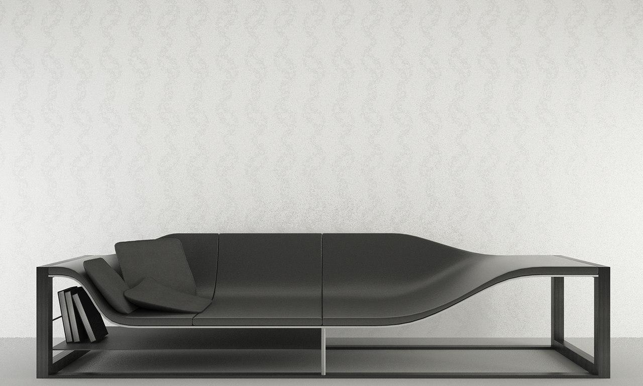 bucefalo sofa 3ds