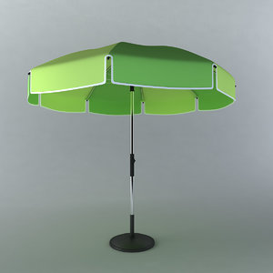 3d sun umbrella
