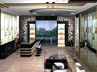 3d showroom model